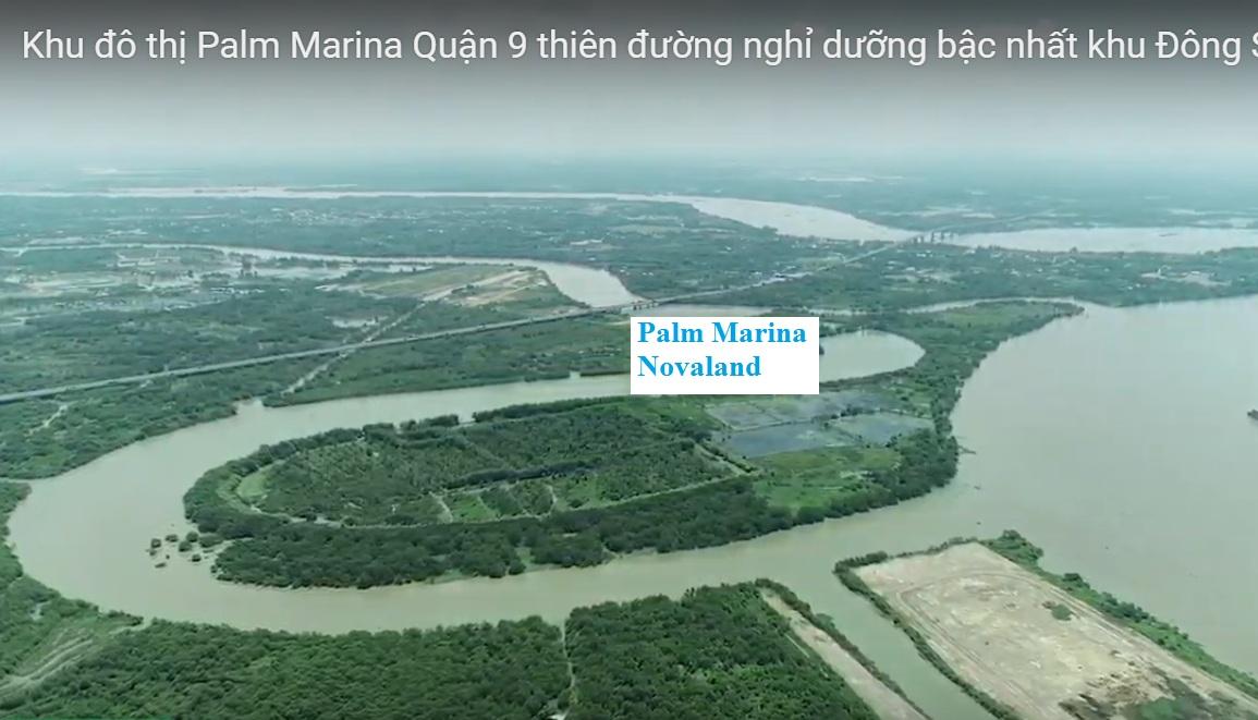 khu đô thị palm marina novaland