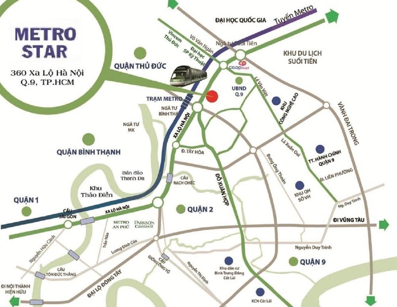 Metro Star quận 9