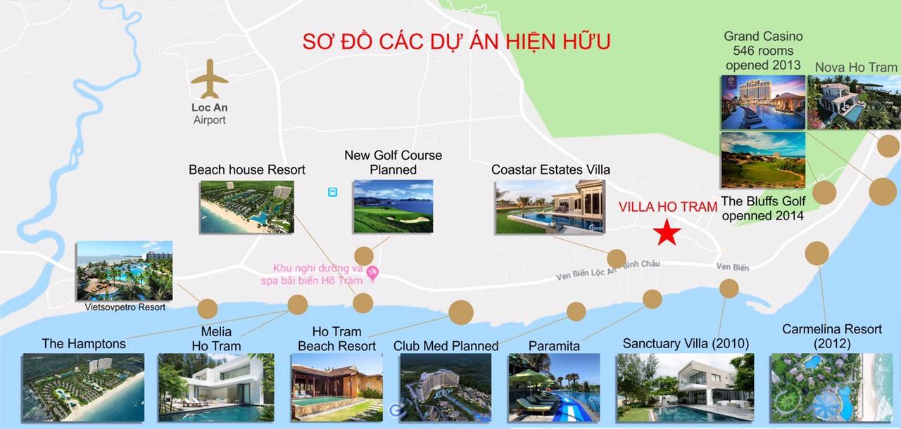 Hồ Tràm garden