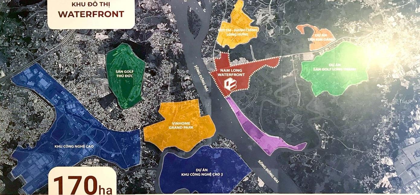 dự án waterfront nam long