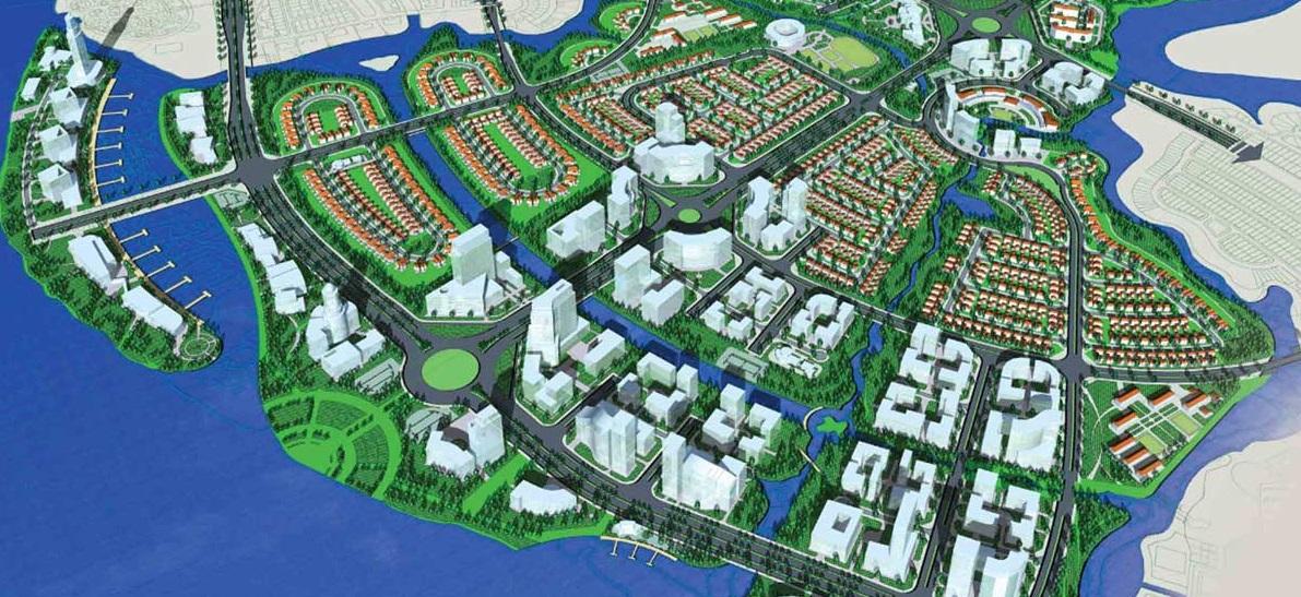 dự án waterfront nam long, biệt thựWaterfront, căn hộ Flora Waterfont