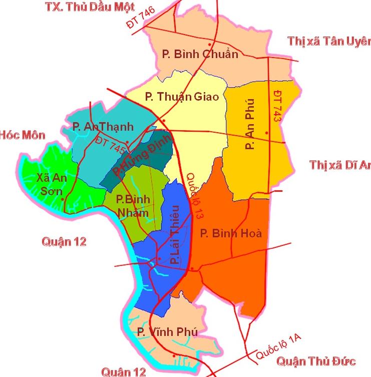Đất có sổ Thuận An Bình Dương
