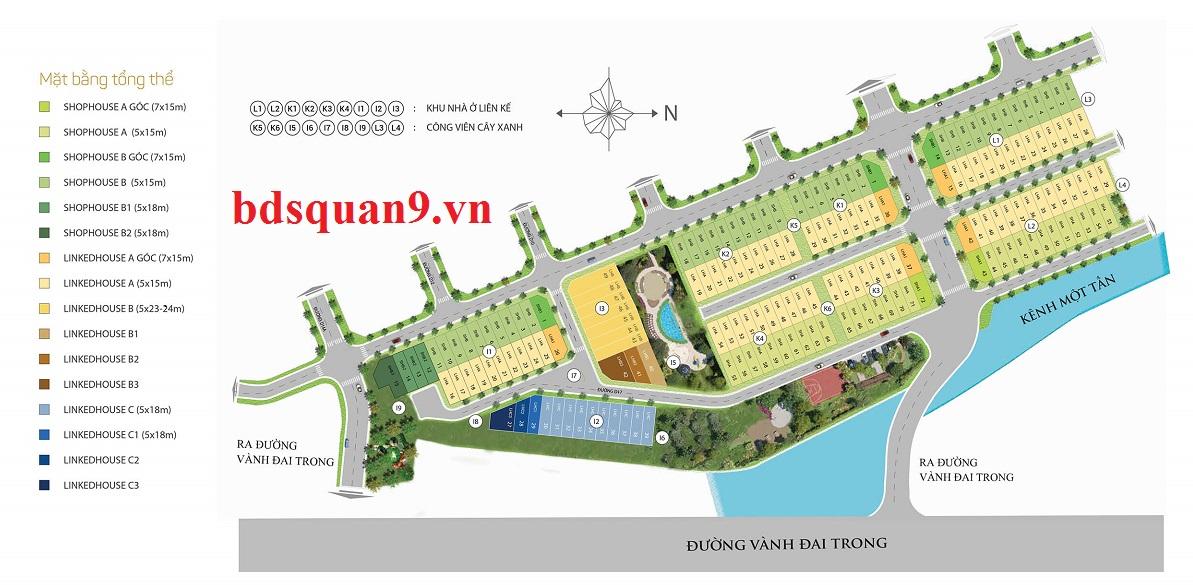 nhà phố liên phường river park