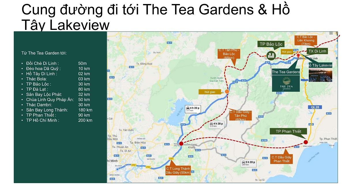 đất nền di linh lâm đồng, dự án the tea garden, hồ tây lake view di linh, đất vườn di linh lâm đồng, nhà vườn di linh lâm đồng